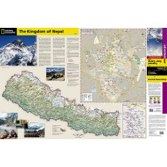 Everest, Tour des Annapurnas, Langtang : trouver des cartes de trek carte everest