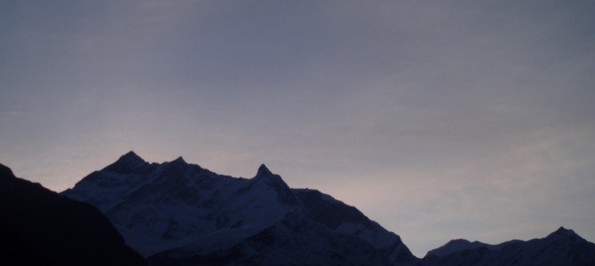 Tour des Annapurnas : Kalopani – Tatopani