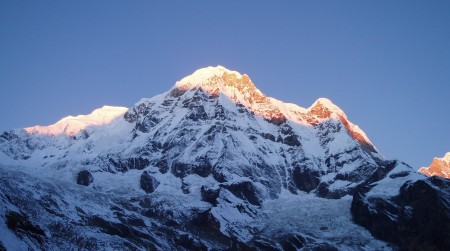 Tour des Annapurnas : Annapurna Base Camp   Bamboo   Sinuwa annapurna south base camp nepal 450x251