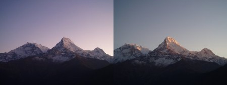 Tour des Annapurnas : Ghorepani   Poon Hill   Tadapani annapurna south hiunchuli poon hill ghorepani nepal 450x169