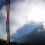 Photos de trek au Népal drapeaux prieres langtang 150x150