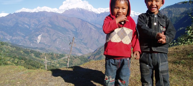 Tour des Annapurnas : Sikha – Chitre – Ghorepani