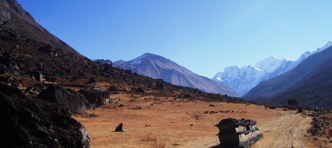 Trek dans le Langtang : Jour 4 : Langtang – Kyanjing Gompa