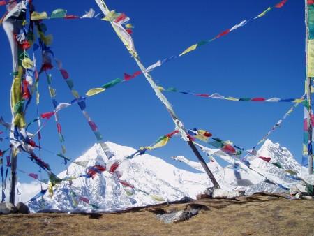Trek dans le Langtang   Jour 5 : Ascension du Tserko Ri (4984 m) langtang lirung kimshung 450x338