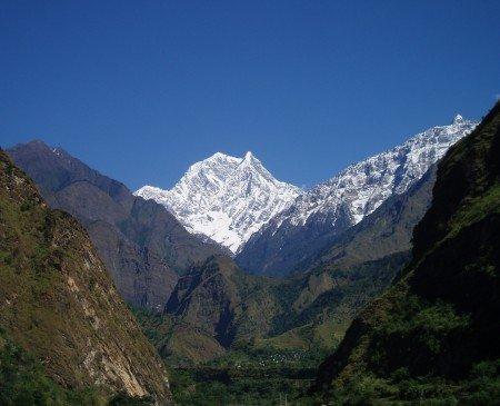 Tour des Annapurnas : Tatopani (repos) dilgiri south trek jomosom nepal 450x365
