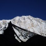 Nepal trekking pictures drapeaux de prieres annapurna 1 nepal 150x150