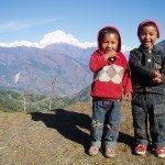 Photos de trek au Népal enfants nepalais dhaulagiri nepal 150x150