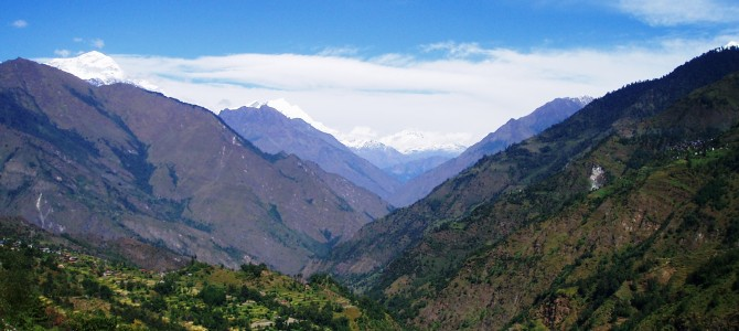Tour des Annapurnas : Tatopani – Sikha