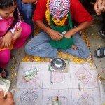 Photos de trek au Népal jeux de des tatopani nepal 150x150