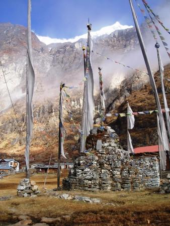 Trek dans le Langtang   Jour 3 : Bamboo   Langtang langtang village 338x450