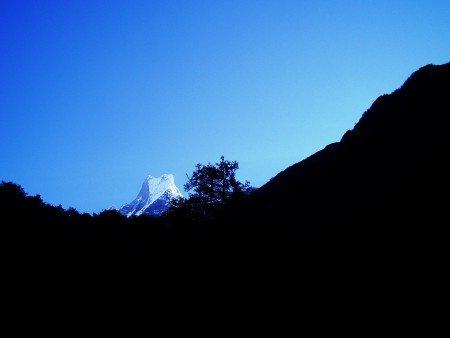 Tour des Annapurnas : Bamboo   Deurali machhapuchhere ombre trek sanctuaire annapurna 450x338