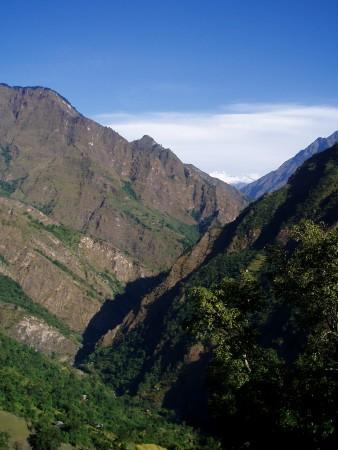Tour des Annapurnas : Tatopani   Sikha sikha trek de jomosom nepal 338x450
