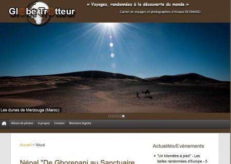 Globe trotteur.fr, carnets de voyage globe trotteur 450x319