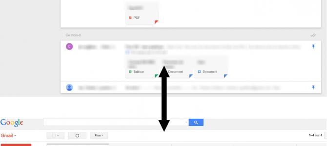 Consulter sa boîte Gmail dans Inbox … et inversément