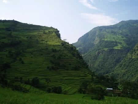 Tour des Annapurnas : Bhulbule   Bahundanda   Syanje bhulbule syanje tour des annapurnas nepal 450x338