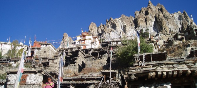 Tour des Annapurnas : Braga – Manang