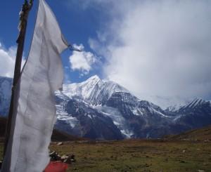 Tour des Annapurnas : Manang   Ice Lake   Manang gangapurna ice lake nepal2 300x245