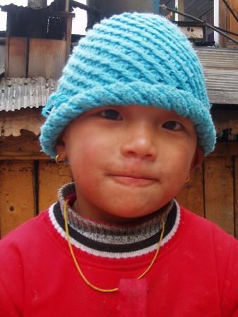 Tour des Annapurnas : Temang   Chame garcon nepalais chame nepal 338x450