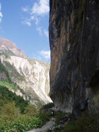 Tour des Annapurnas : Chame   Upper Pisang thaleku tour des annapurnas nepal 338x450