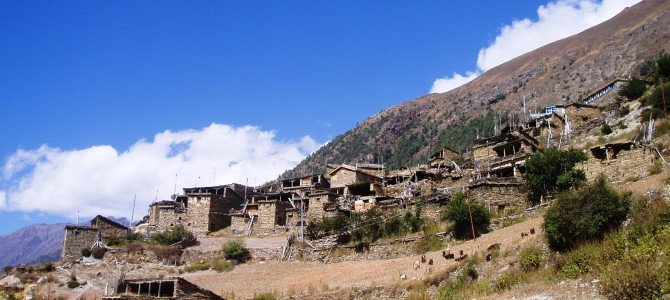 Tour des Annapurnas : Chame – Upper Pisang