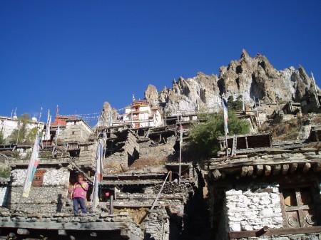 Tour des Annapurnas : Braga   Manang braga tour des annapurnas nepal2 450x337