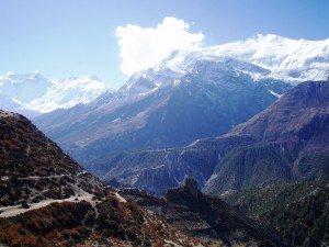 Tour des Annapurnas : Manang   Laddar (Letdar) manang laddar tour des annapurnas nepal2 300x225