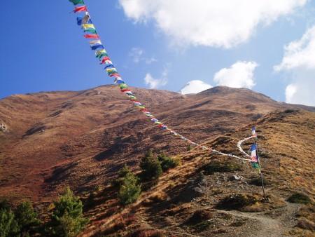 Tour des Annapurnas : Upper Pisang   Ngawal   Braga pisang peak tour des annapurnas nepal 450x338
